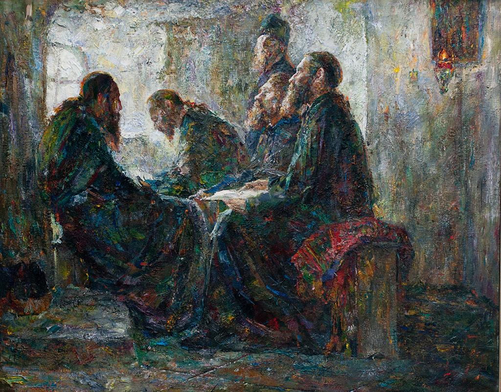Молдавский Репин?  О творческих находках Георгия Лисицы