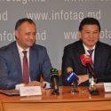 Игорь Додон встретился с президентом всемирной шахматной федерации