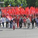 В Первомайском марше социалистов приняли участие более 15 тысяч человек (фото)