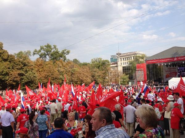 Игорь Додон: «Будущее Молдавии рядом с Россией»