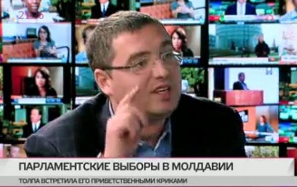 Ренато Усатый в эфире  «Дождя»: «Нынешние выборы самая большая фальсификация в истории Молдовы»
