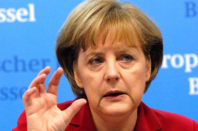 Меркель заявила, что Россия угрожает миру в Европе