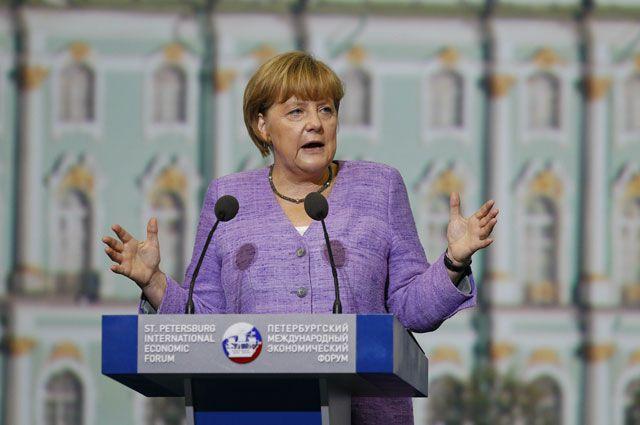 Меркель предупредила о возможном расширении влияния России