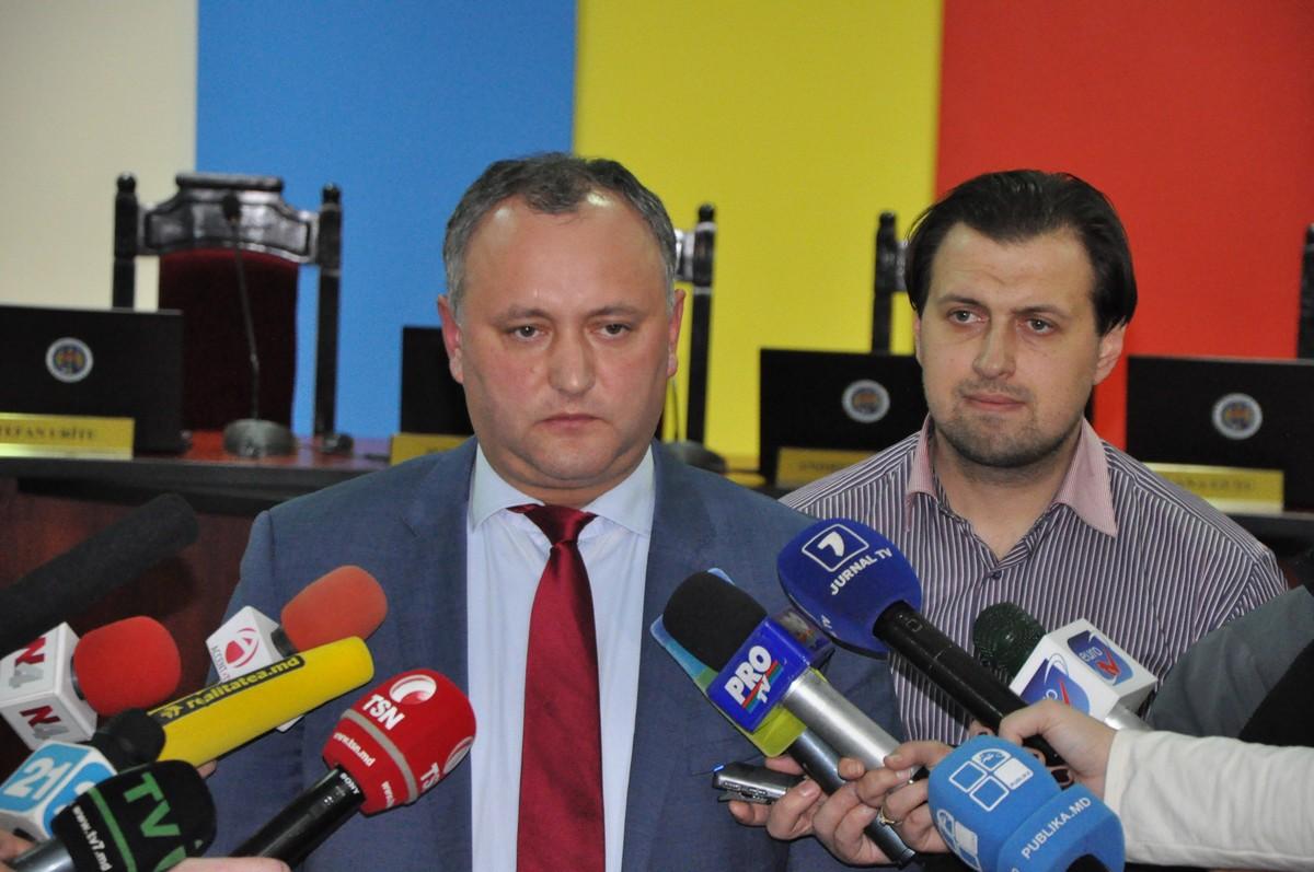 Чокан подтверждает, что Воронин требует увеличить избирательный порог для ПСРМ