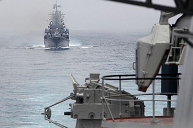 Корабли ВМФ России выдвинулись к границам НАТО