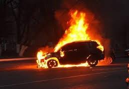 Неизвестные подожгли машину ветерана войны на Днестре