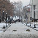 Диордица-вечная парковка? Декоративные камни не спасли пешеходную улицу от автомобилей (фото)