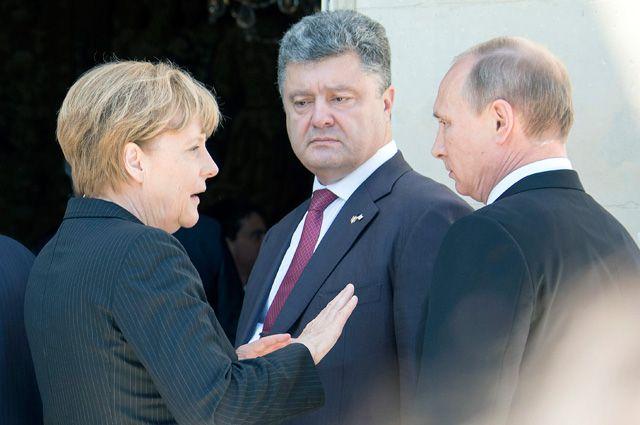 Лидеры «нормандской четверки» начали переговоры в Минске