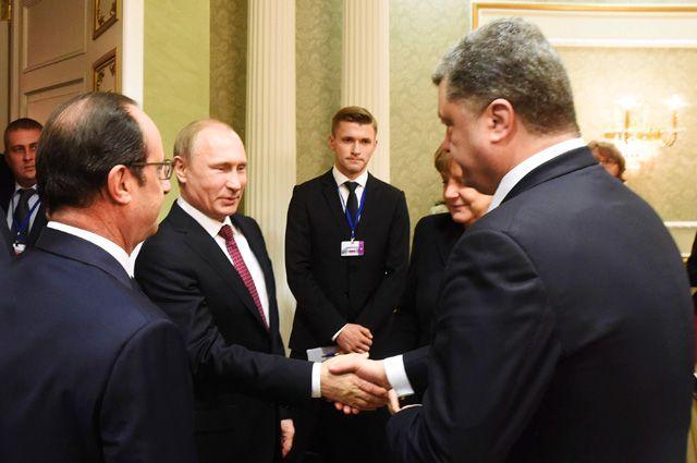 СМИ: в Минске Порошенко предложил Путину «забрать Донбасс»