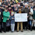 Акция протеста состоялась в центре Кишинева (фото)