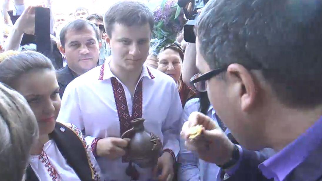 Ренато Усатый вернулся в Молдову