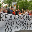 Унионисты маршируют (фото)