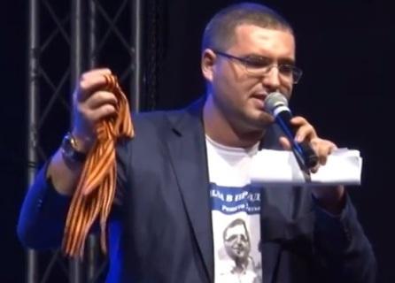 Ренато Усатый отправил в Молдову 100 тыс георгиевских ленточек