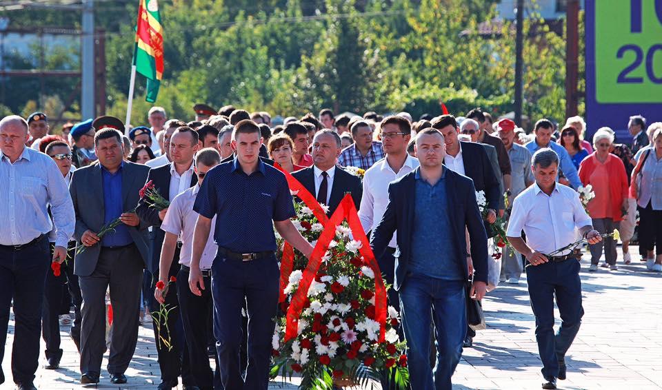 Социалисты отметили 71-ю годовщину освобождения Молдовы от фашистской оккупации (фото)