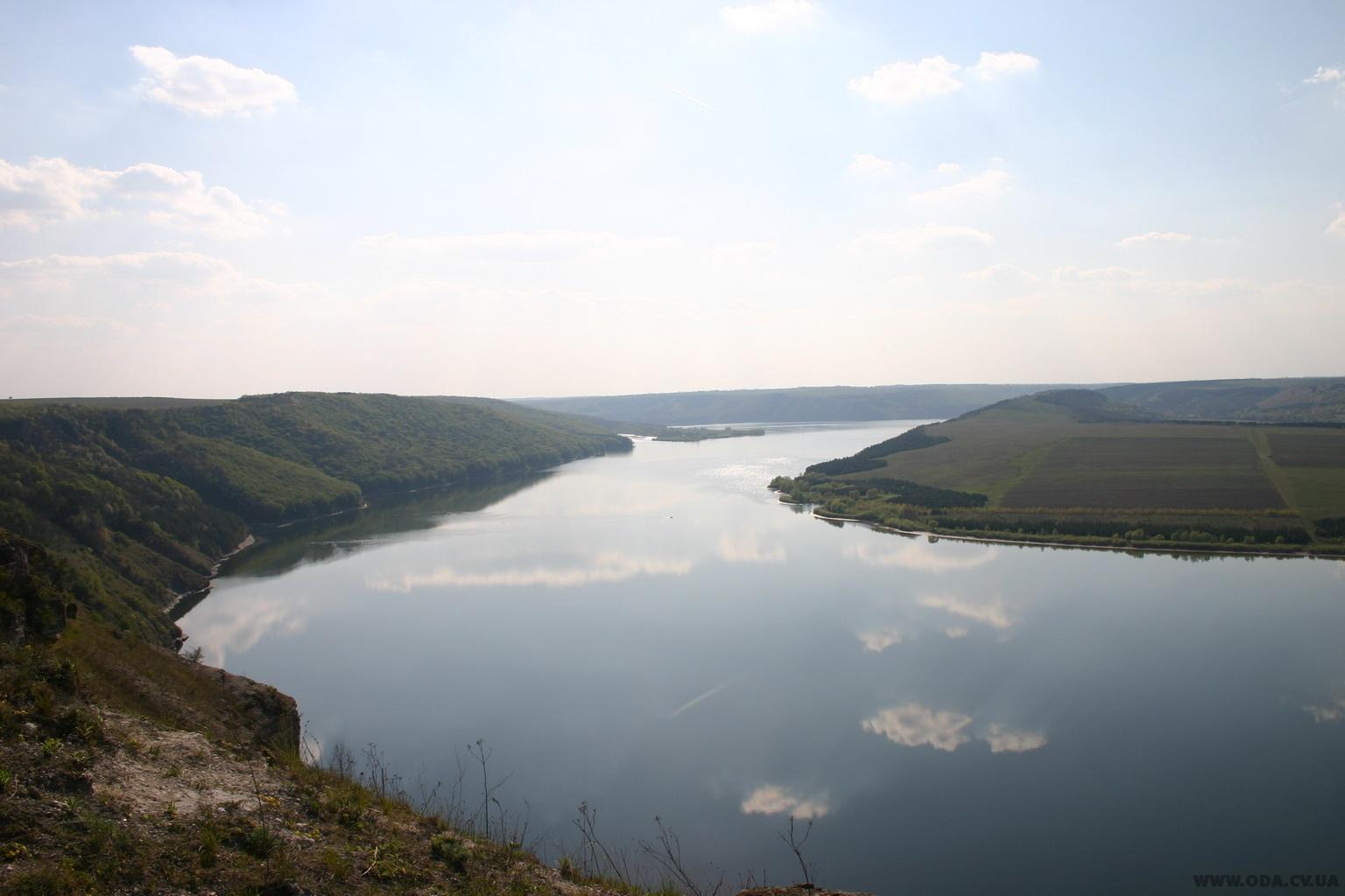 Уровень воды в реке Днестр увеличился
