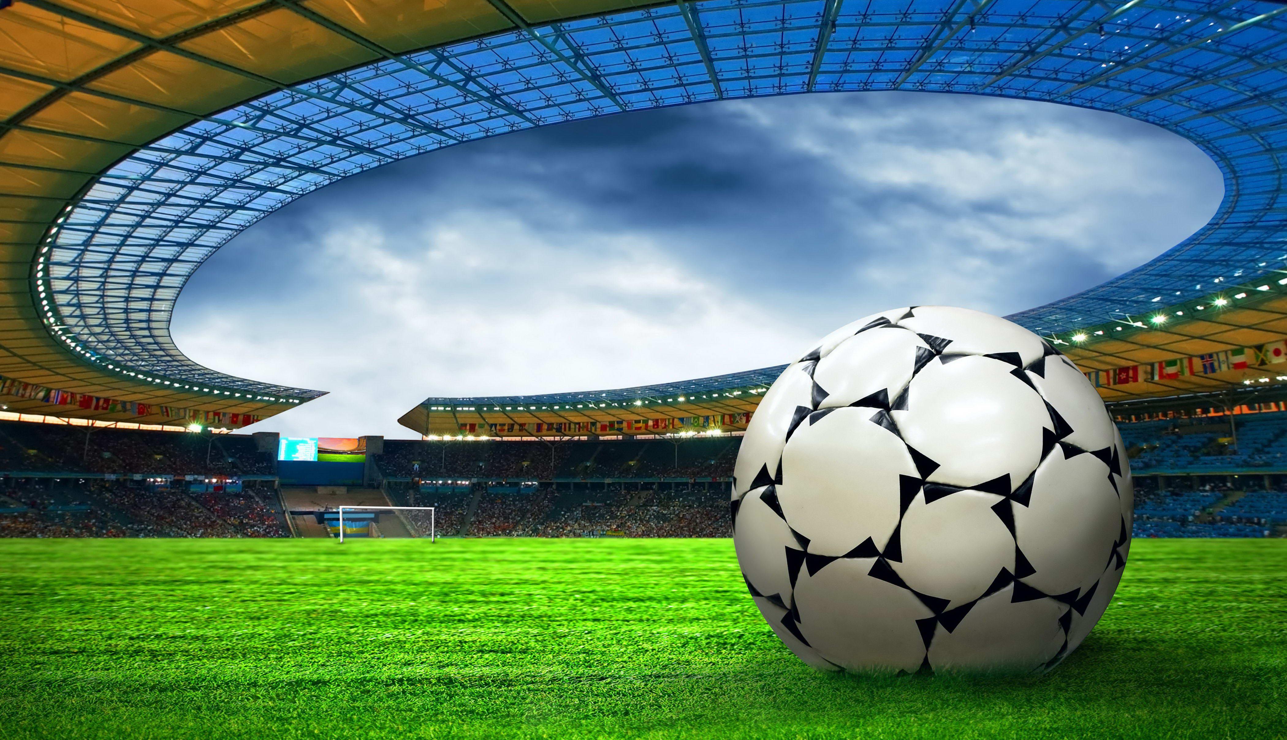 В  Ниспоренах открыли новый современный стадион