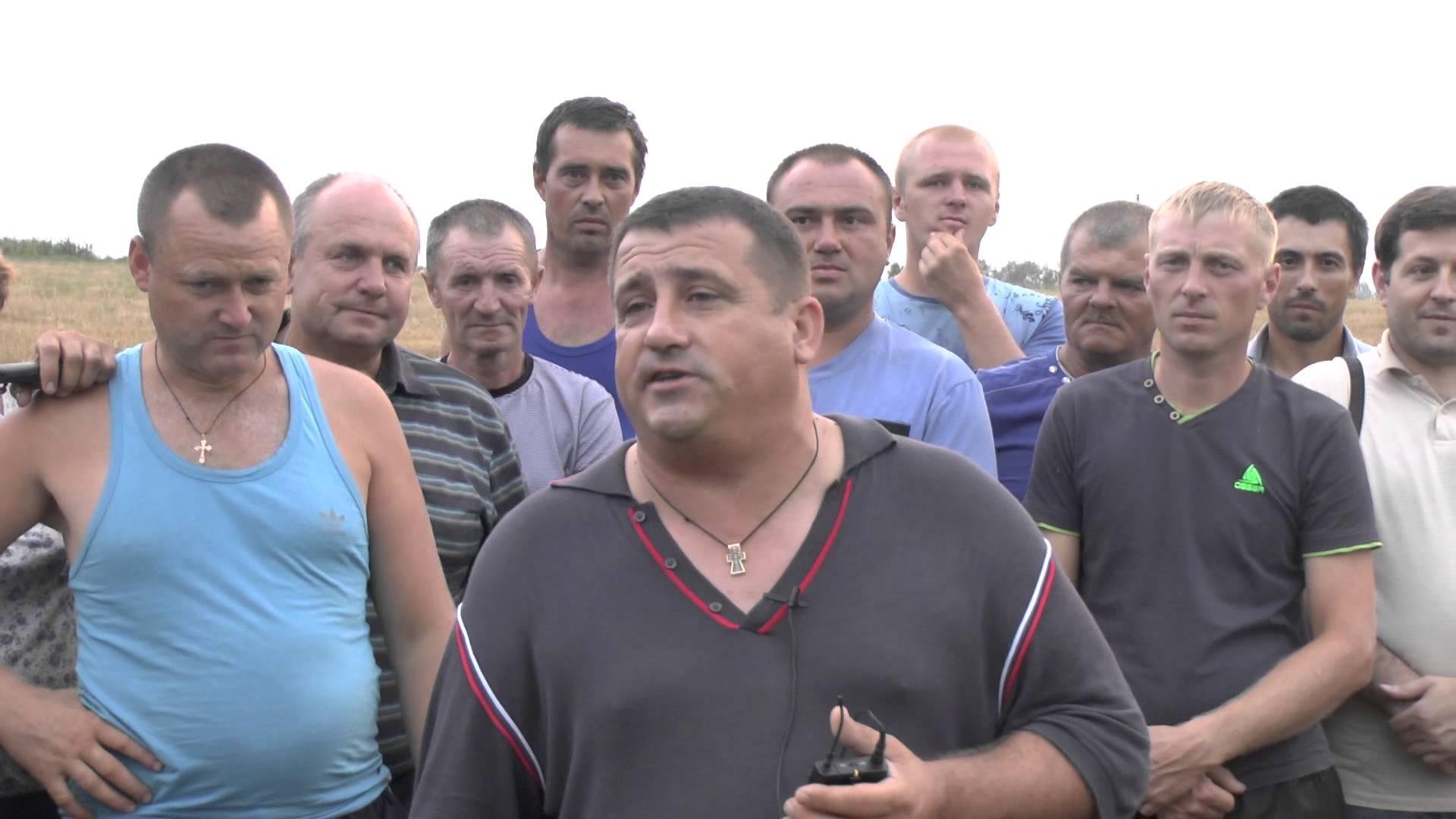 Молдавские фермеры снова протестуют в Кишиневе