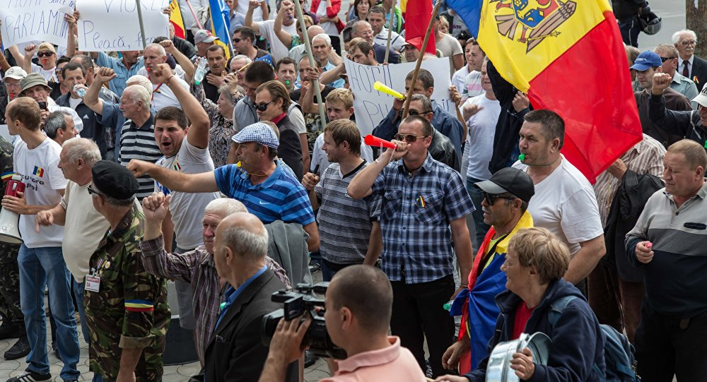 Протестующие собираются жить на ПВНС до декабря