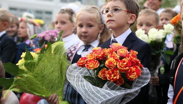 35 тыс. детей в Молдове пошли сегодня в первый класс