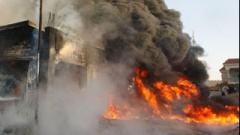 Взрыв в Сороках: есть серьезно пострадавшие