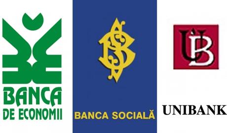 Опубликован список банков, принявших депозиты BЕМ, Banca Socială и Unibank