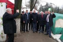 Депутаты «Справедливой России» посетили «Городок Победы»