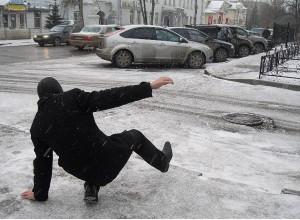 На прошлой неделе более 500 кишиневцев получили травмы на льду