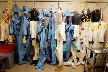 Из Парижской больницы пропали костюмы бактериологической защиты