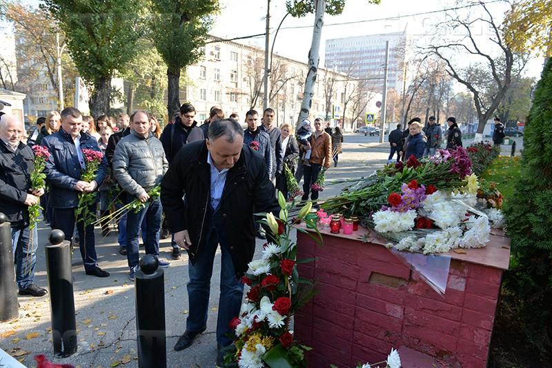 В Молдове почтили память погибших граждан России и Румынии