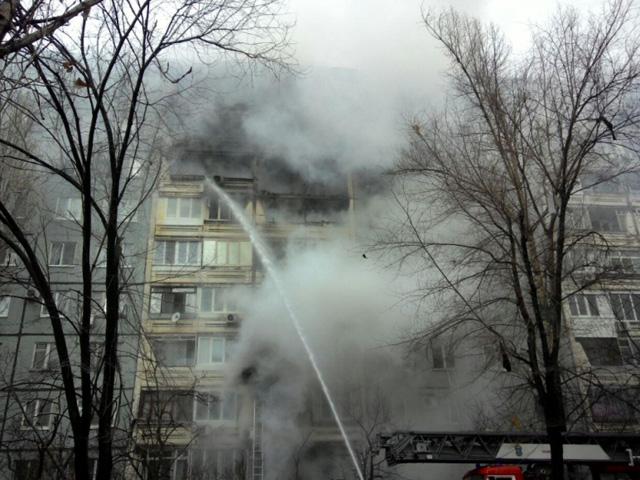 Взрыв газа в жилом доме в Волгограде