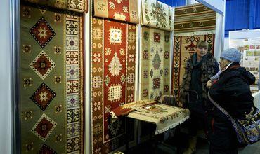 В Кишиневе открылась ярмарка национальных ковров