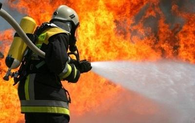 На столичном бульваре Дачия вспыхнул пожар