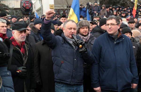 Игорь Додон призвал выйти на массовую акцию протеста 24 января