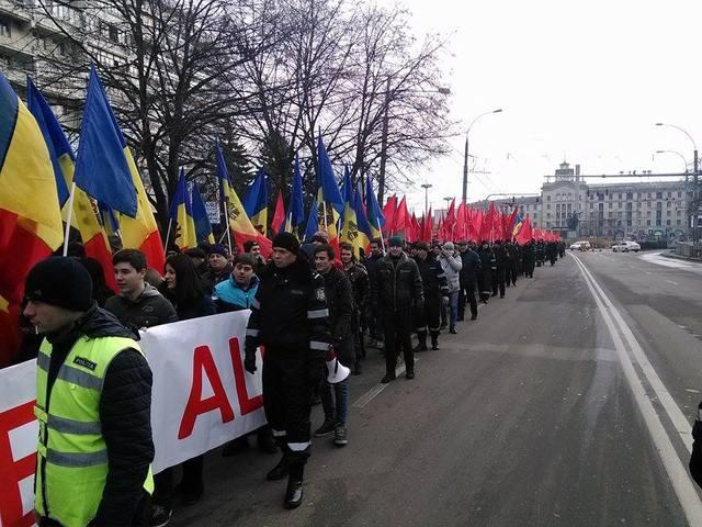 Массовый митинг ПСРМ «За досрочные выборы» идет в Кишинёве