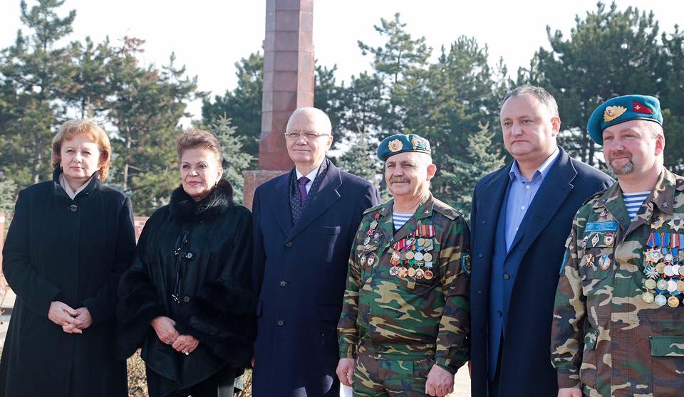 ПСРМ поздравляет жителей Молдовы с Днем защитника Отечества
