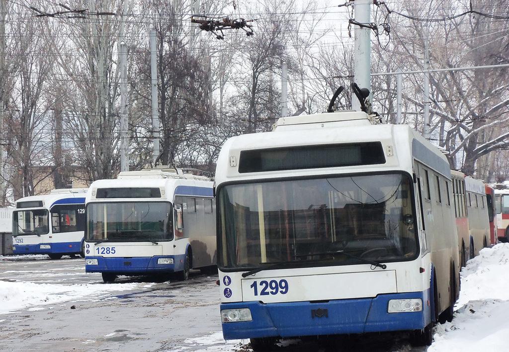 Общественный транспорт Кишинёва возобновил работу