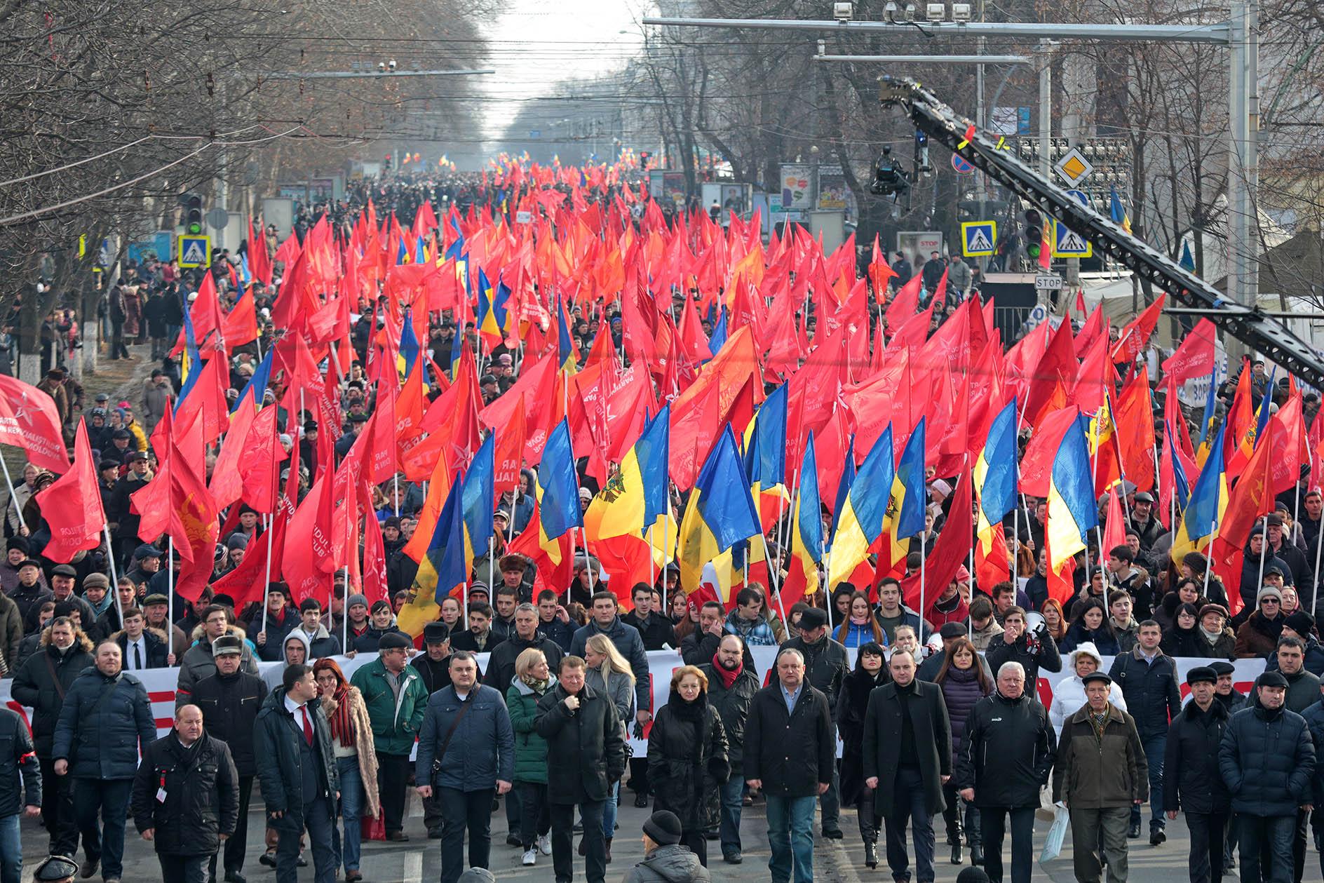16 апреля пройдут масштабные акции протеста в поддержку государственности Республики Молдова