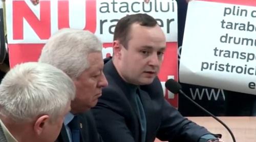 Либералы пытались превратить публичные слушания по законопроекту о статусе муниципия Кишинев в откровенное шоу