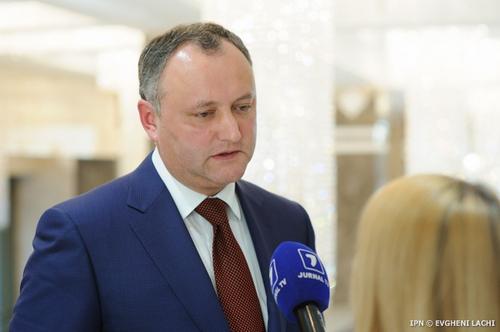 Президент Республики Молдова Игорь Додон посетит с визитом столицу Российской Федерации в конце этого года