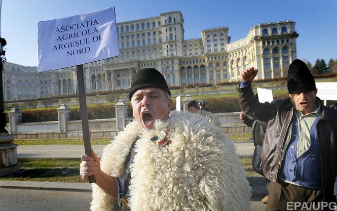 Румынские фермеры требуют от правительства защиты и субсидий