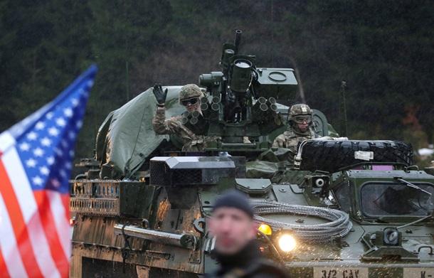 Колонна военной техники НАТО пройдет по Молдове