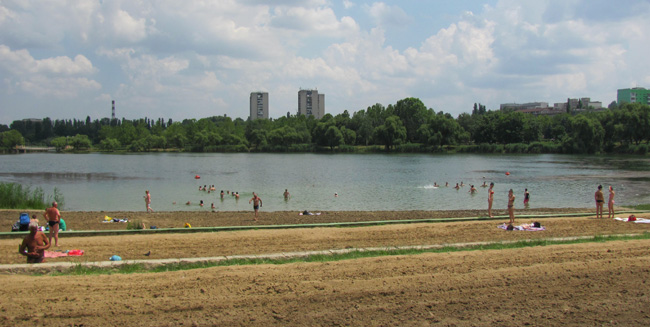 В Кишиневских водоёмах запрещено купаться