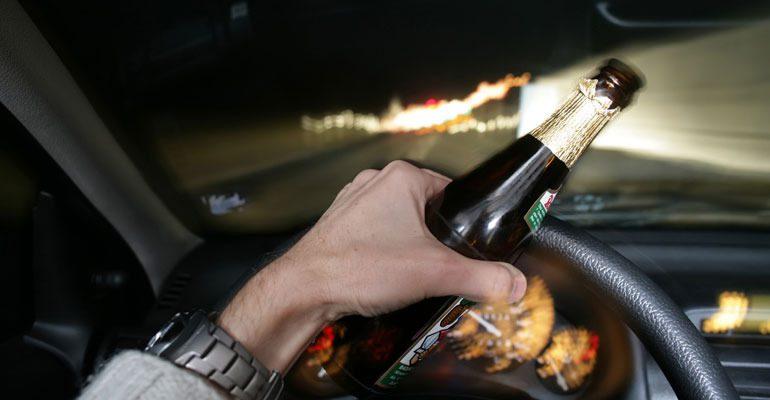 Пойманному пьяным за рулем жителю Каменки грозит уголовное наказание