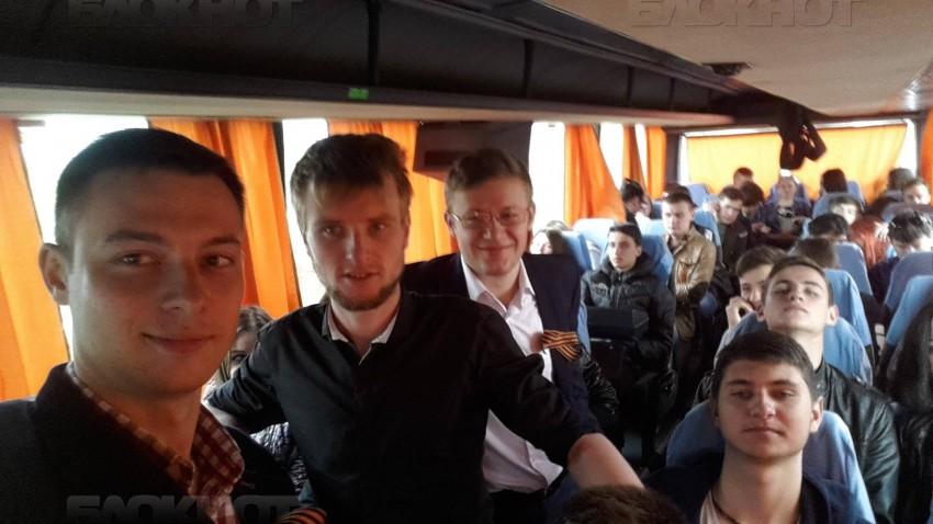 в Кишинев на Марш Победы съезжались со всей Молдовы