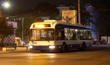 Водители троллейбусов саботируют работу ночного транспорта