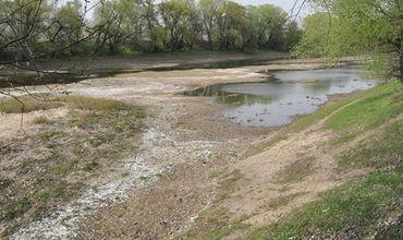 Обмеление Днестра: последствия могут быть катастрофическими для водоснабжения столицы