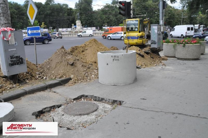 """Киишнёв – """"город перекопанных улиц"""""""
