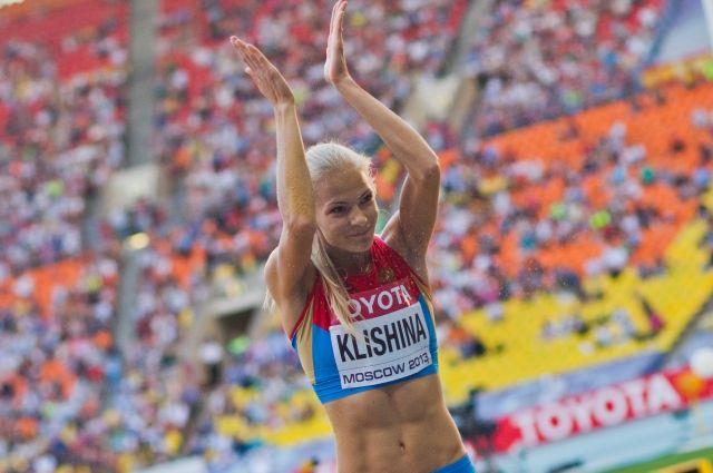 IAAF подтвердила участие Клишиной в Олимпиаде