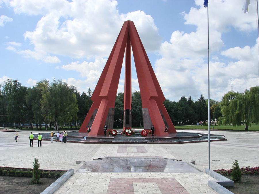 Стела кишиневского мемориального комплекса нуждается в срочной реставрации