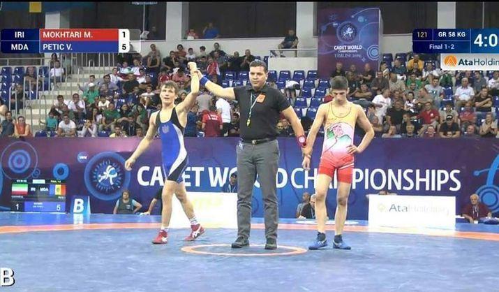 Борец из Молдовы стал чемпионом мира по греко-римской борьбе